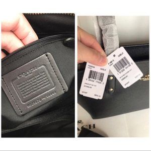 coach city zip tote set/shoulder bag&wallet